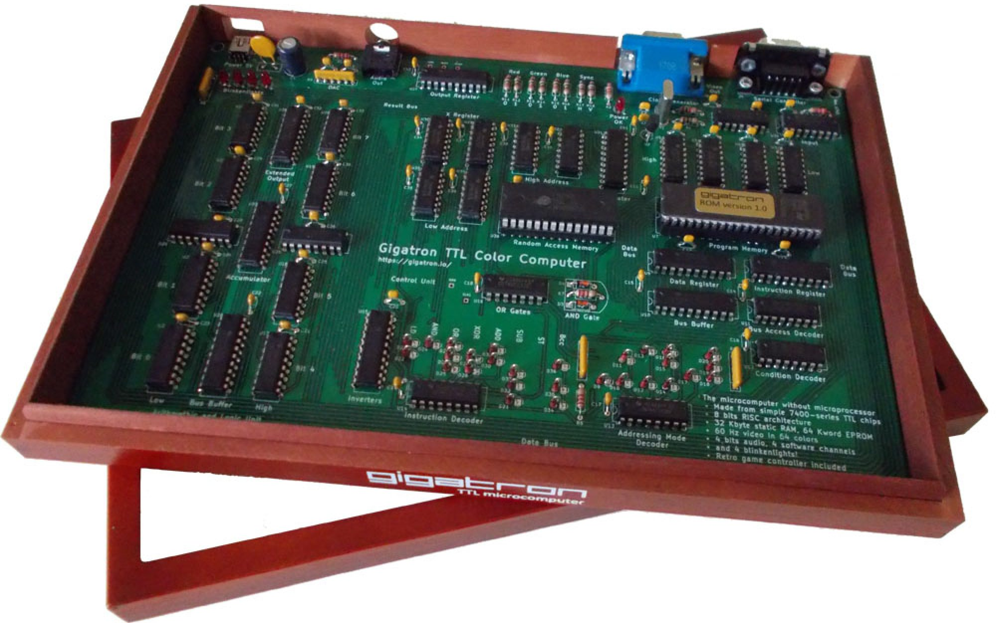 Faq Gigatron Which Includes The Switching Transistor So You Can Happily Use It